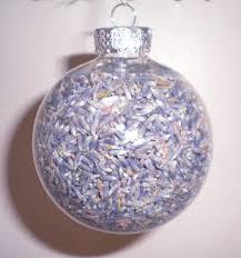 lavender christmas decorations homemade christmas decorations