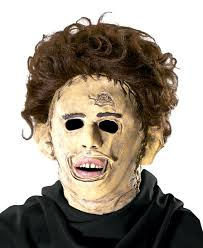 Texas Chainsaw Massacre Halloween Costume Leatherface Mask