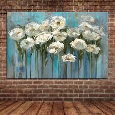 Cheap Wall Mural Popular Canvas Flower Wall Mural Painting Buy Cheap Canvas Flower