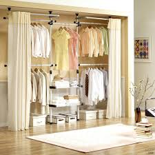 closet cover ideas how to a without doors open wardrobe curtain 6