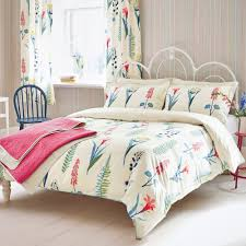 sanderson home floral bazaar bed throw