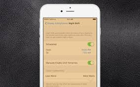 how to use night shift on your iphone and ipad
