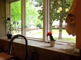 Windows That Open Out Ideas Kitchen Kitchen Window Sill Ideas Kitchen Windows That Open Out