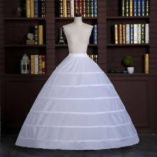 wedding dress hoop white 6 hoop wedding gown crinoline bridal dress petticoat