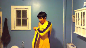 bruce yellow jumpsuit bruce of kill bill yellow jumpsuit costume review
