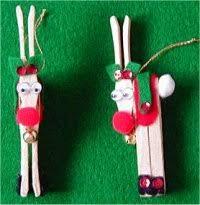 26 clothespin reindeer ornament tutorials guide patterns