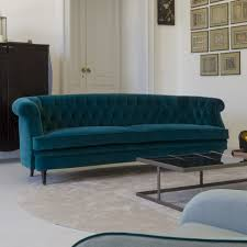 sofas center 239 cyan blue velvet english roll arm sofa zoom