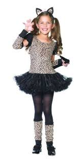 Cat Halloween Costumes Kids Glitter Cat Costume Kit Children Party 3 99