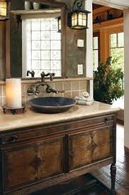 rustic bathroom design logs make the difference a waterfront retreat in wisconsin rustic