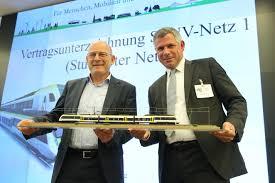 Baden Media News Vertragsunterzeichnung Stuttgart Abellio Deutschland
