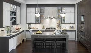 grey and white kitchen ideas kitchen curtain white gray honey color space floors modern