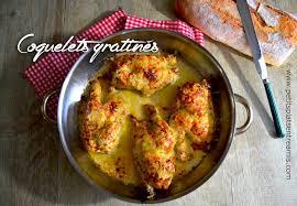 cuisiner le coquelet coquelets gratinés petits plats entre amis