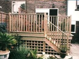 raised patio deck ideas elevated deck privacy ideas raised deck
