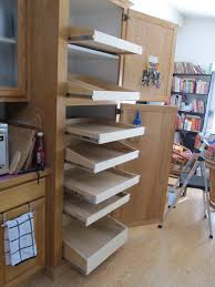 Roll Out Pantry Shelves by Diagnal Roll Out Bookshelves Pull Out Pantry Roll Out Shelves