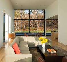 contemporary home interiors contemporary home with glass walls and panoramic views of virginia