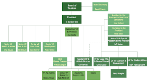 sample of organizational chart for small business