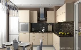 Living Room Wallpaper At Small Apartment Interior Design By Artem - Apartment interior designs