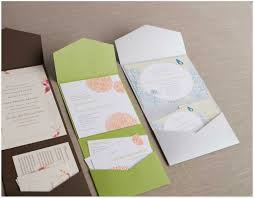 pocket envelopes pocket fold wedding invitations cheap cards wedding invitation