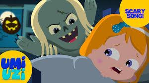 umi uzi happy halloween scary nursery rhymes songs for