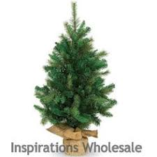 3ft colonial fir potted feel real artificial tree