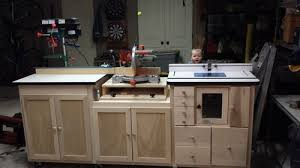 table saw router combo miter saw router table combo by swarfrat lumberjocks com with