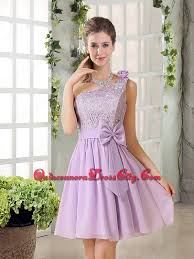bridesmaid dresses 2015 one shoulder lilac bridesmaid dress with bowknot for 2015 58 62