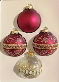 vintage krebs rauch glass ornaments 4 ebay