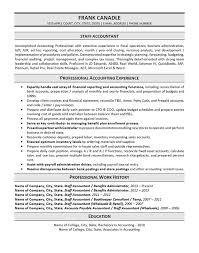 sle resume for senior staff accountant duties resume senior staff accountant resume sle exle1 icon luxury