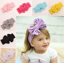 top knot headband online cheap baby wrap bow top knot big bow headwrap baby