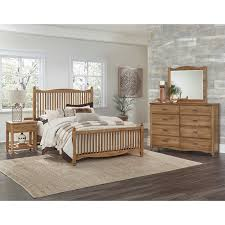 Maple Bedroom Furniture Vaughan Bassett American Maple King Bedroom Group Rooms And Rest