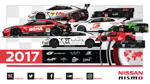 nissan race car nissan and nismo announce global motorsport program for 2017