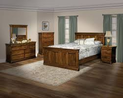 Amish Made Bedroom Furniture by Shaker Style Bedroom Sets Amish Divider Platform With Storage