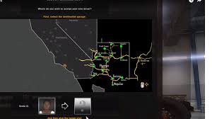 Arizona New Mexico Map I Made A Map Of Arizona Based On Video By Scs Software You Can