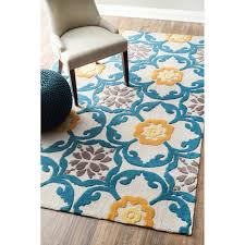 Gray And Yellow Rugs Teal And Yellow Rug Rugs Decoration