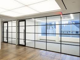 removable partition glazed for offices transparent carré