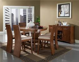 Glass Dining Room Furniture Sets Triangle Glass Dining Table Set