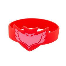 pj masks wrist band kids toy christmas gift costumes silicone
