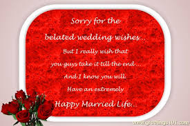 belated wedding card send free ecard belated wedding wishes from greetings101