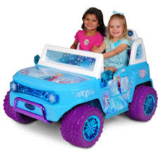 pink toddler car disney frozen suv 12v battery operated ride on walmart com