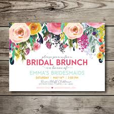 bridal lunch invitations instant bridal luncheon invitation bridal brunch