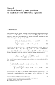 diffeial equations and boundary value problems
