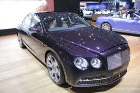 bentley continental flying spur blue new bentley continental flying spur debut at new york auto show