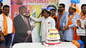 hindu nationalists celebrate trump u0027s birthday
