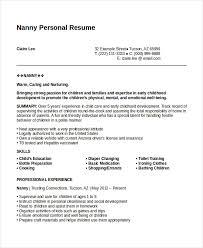 Personal Carer Resume Personal Resume Resume Templates