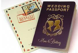 unique wedding invitation ideas wedding invitation design ideas black gold passport wedding