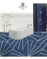Art Deco Bathroom Sink Inspiration Blue Bathroom Jpg