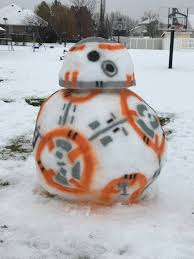 most impressive fans tony and gwen francis u0027 awesome bb 8 snowman