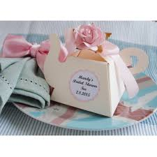 bridal shower tea party favors tea party teapot favor boxes
