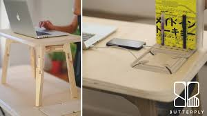 butterply desk artfully crafted multi functional furniture by