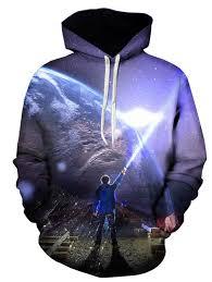 hoodies 4xl 3d earth figure print pullover hoodie gamiss